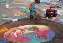 Via Colori Festival Street Art Artists At Work