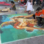 Via Colori Festival Street Art Artists At Work