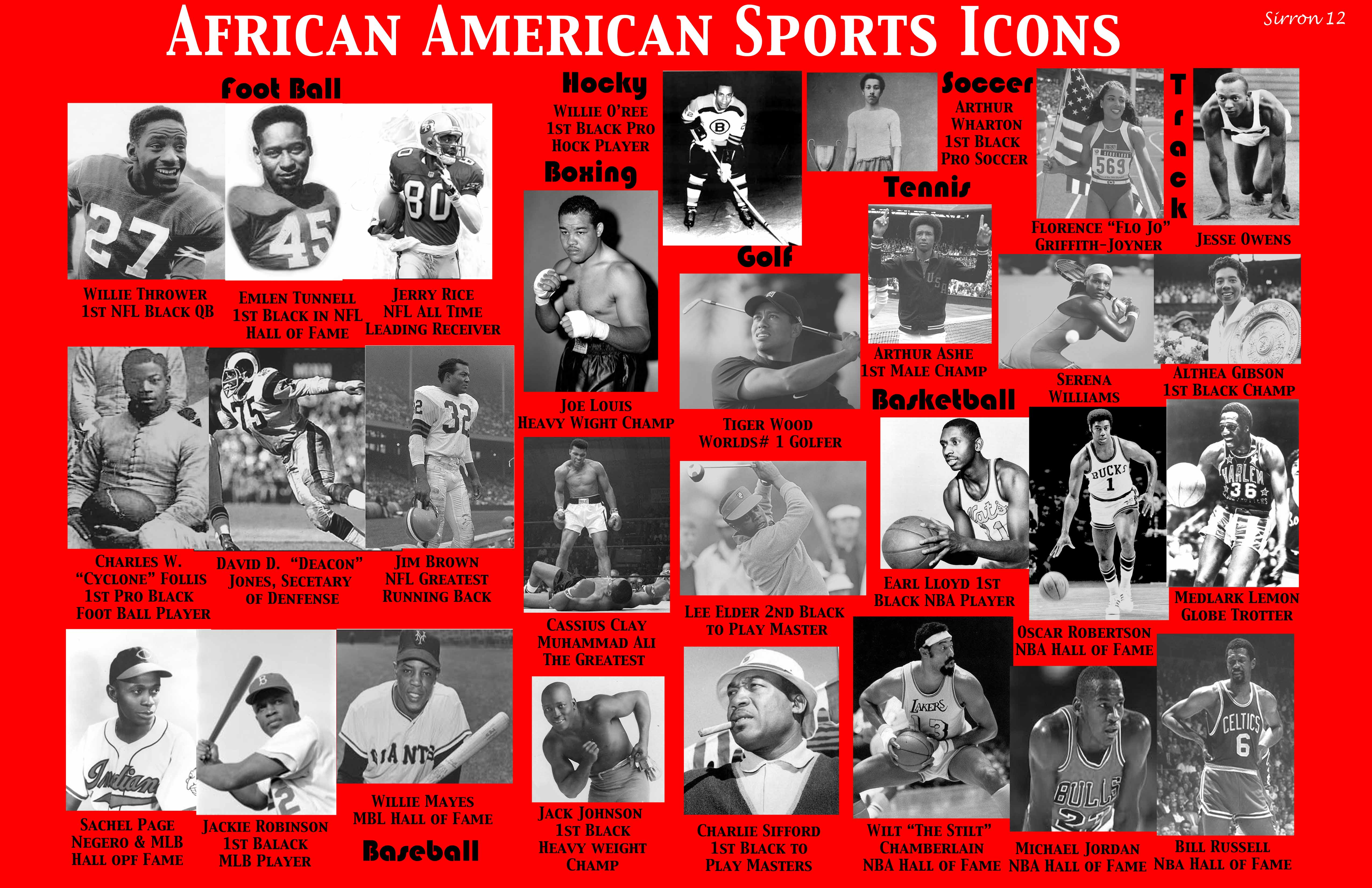 the predominance of africa americans in sports Sickle cell trait is an inherited condition of the oxygen-carrying protein, hemoglobin, in the red blood cells sickle cell trait is a common condition affecting over three million americans although sickle cell trait is most predominant in african-americans and those of mediterranean, middle eastern, indian, caribbean, and.